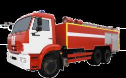 Fire truck AZ 11,0-40 (KAMAZ 65115) 1cab