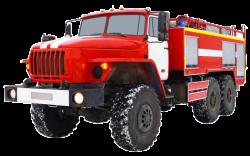 Camión cisterna de bomberos AC 6,0-70 (Ural 5557) 1C altura 3m