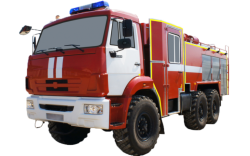 Camión cisterna de bomberos AC 5,0-40 (CAMAZ 5350) 2C