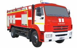 Автоцистерна пожарная АЦ 6,0-40 (КАМАЗ 43253)