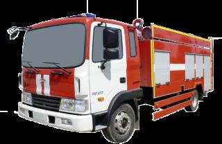 Fire truck AZ 5,0-40.400 (Hyundai HD120) 1cab
