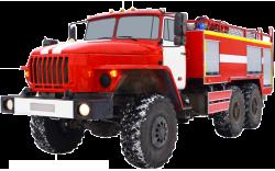 Автоцистерна пожарная АЦ 6,0-70 (Урал 5557) 1к высота 3м