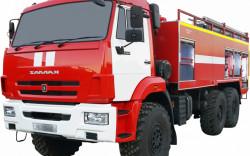 Fire truck AZ 8,0-40 (KAMAZ 43118) 1cab