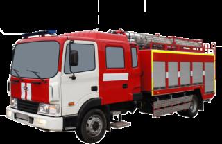 Fire truck AZ 3,2-40 (Hyundai HD120) 2cab NEW