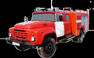 Fire truck AZ 2,5-40 (ZIL-130) 2cab