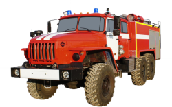 Автоцистерна пожарная АЦ 4,0-40 (Урал 43206-61) 1к