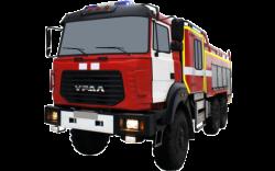 Fire truck AZ 6,0-40 (URAL 4320-81) 2cab