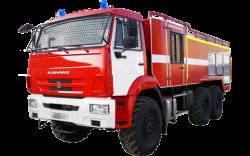 Fire truck AZ 6,0-70 (KAMAZ 43118) 2cab