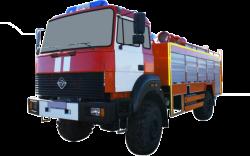 Fire truck AZ 4,0-40 (URAL 43206-79) 1cab