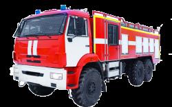 Автоцистерна пожарная АЦ 5,0-40.400 (Камаз 5350) 2к