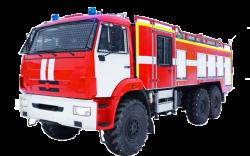 Fire truck AZ 5,0-40.400 (KAMAZ 5350) 2cab