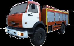 Автоцистерна пожарная АЦ 4,0-40 (Камаз 43502) 1к
