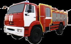 Fire truck AZ 3,0-40 (KAMAZ 43502) 2cab