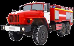 Fire truck AZ 6,0-70 (URAL 5557) 1cab