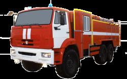 Fire truck AZ 8,0-40 (KAMAZ 43118) 2cab