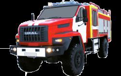 Fire truck AZ 3,0-40/400 (URAL NEXT 43206) 2cab