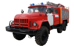 Camión cisterna de bomberos AC 3,0-40 (ZIL-131)