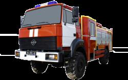 Fire truck AZ 3,0-40 (URAL 43206-79) 2cab