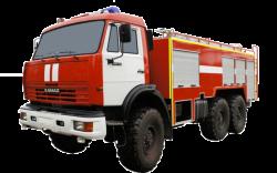 Fire truck AZ 5,0-40 (KAMAZ 5350) 1cab