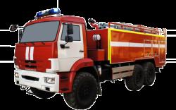 Fire truck AZ 9,0-40 (KAMAZ 43118) 1cab