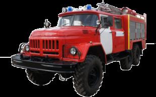 Fire truck AZ 3,0-40 (ZIL-131) 2cab