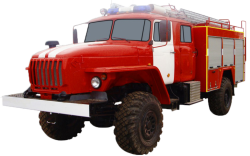 Автоцистерна пожарная АЦ 3,0-40 (Урал 43206-61) 2к