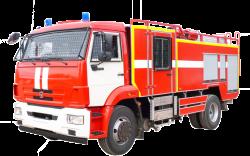 Автоцистерна пожарная АЦ 5,5-40 (Камаз 43253) 2к
