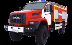 Fire truck AZ 4,0-40 (URAL NEXT 43206) 1cab