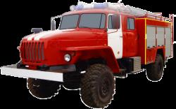 Fire truck AZ 3,0-40 (URAL 43206-61) 2cab