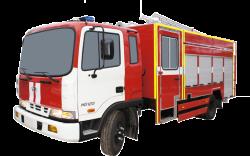 Автоцистерна пожарная АЦ 3,2-40 (Hyundai HD120) 2к
